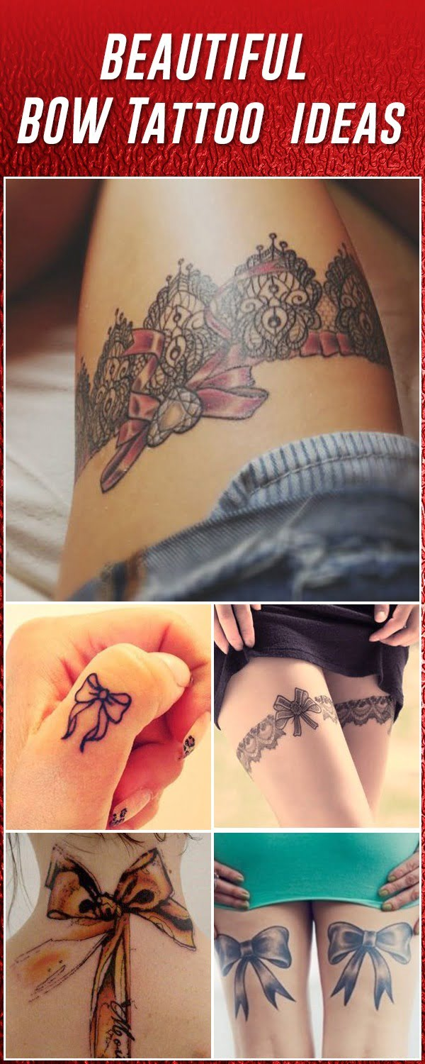 Bow tattoo ideas