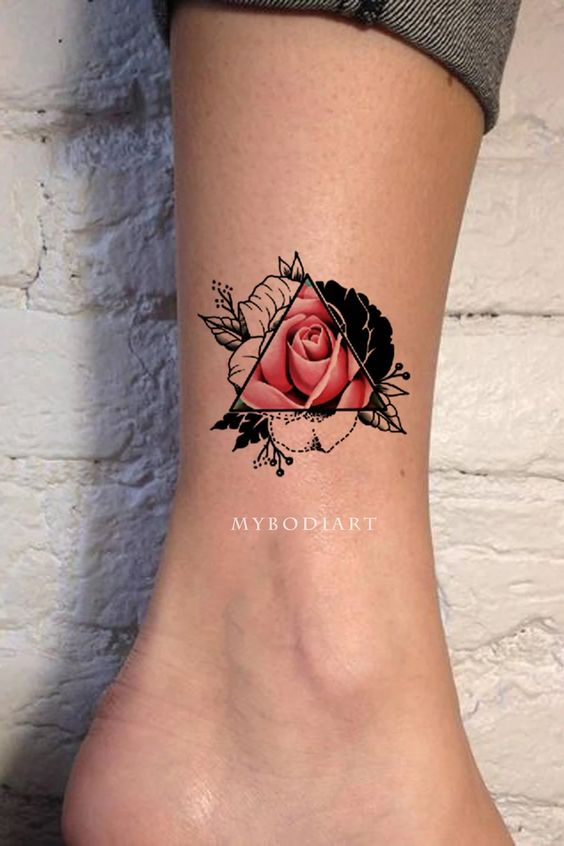 Rose Tattoo in Multiple Styles