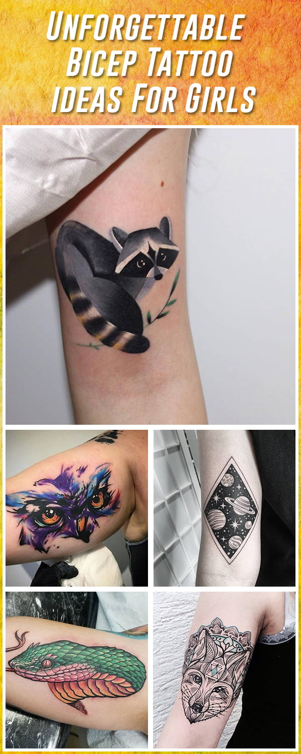Best Bicep Tattoos for Women