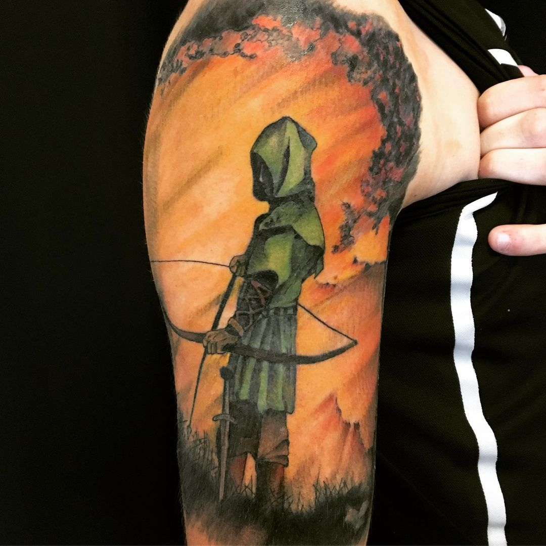 Unexpected Ghost Archery Combination Ink