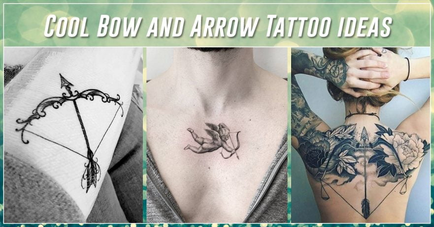 Best Bow and Arrow Tattoos