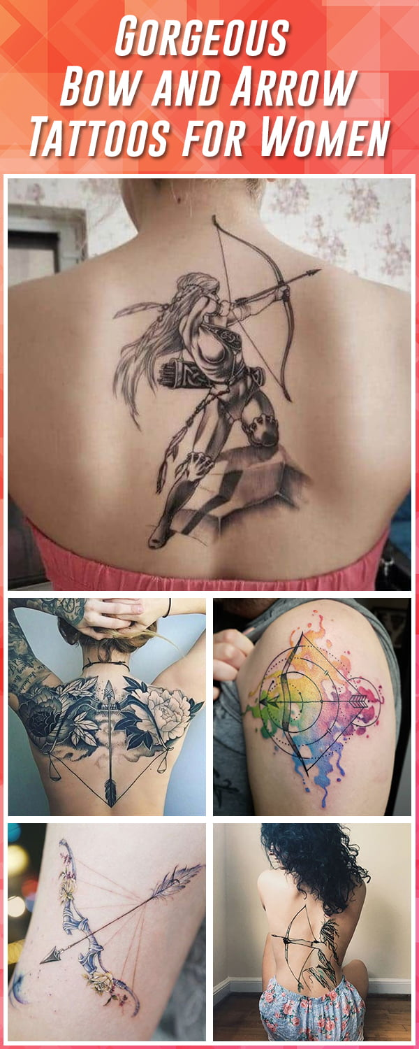 Best Bow and Arrow Tattoos for Women