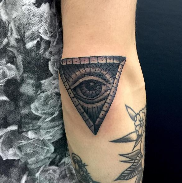 All-Seeing Eye on Elbow