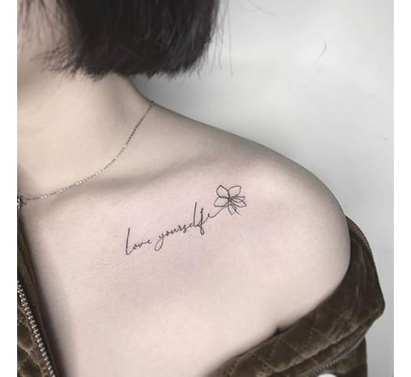 Tattoo Poetry for Romantic Feminists