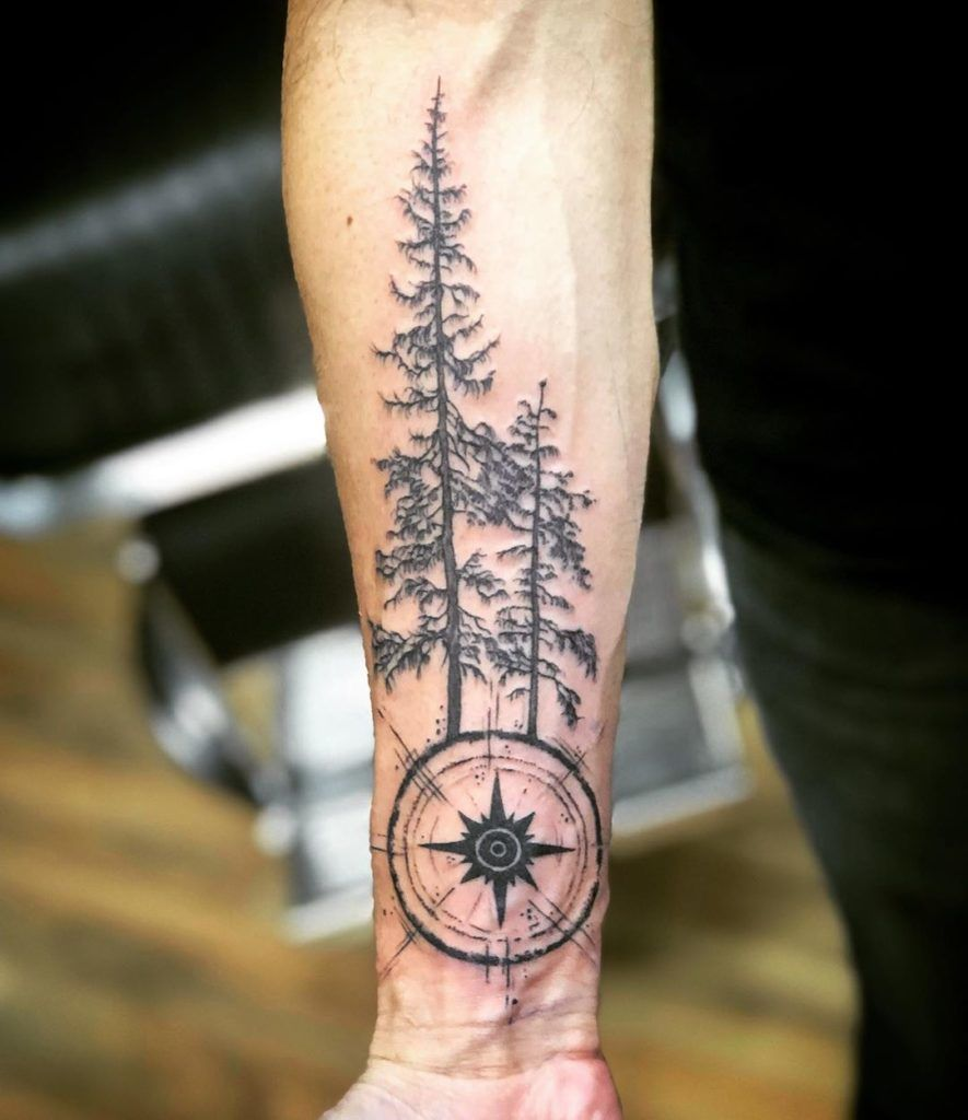 Find Your Way Forearm Compass